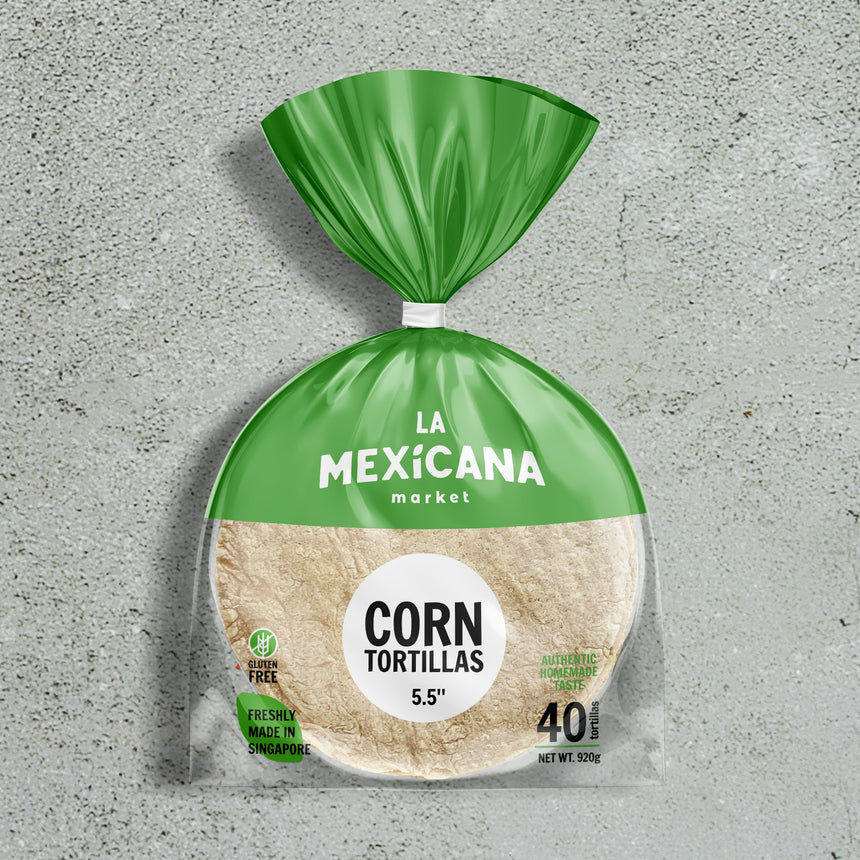 5.5'' Corn Classic Tortillas (40 pieces)