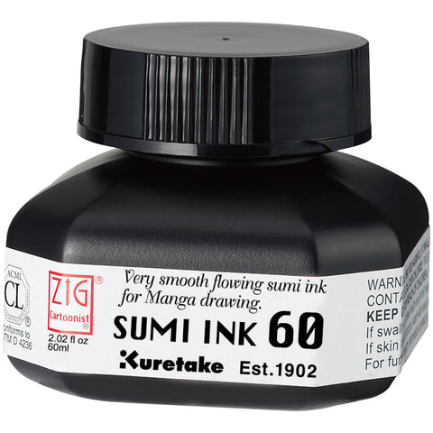 Zig Cartoonist Sumi Ink 60
