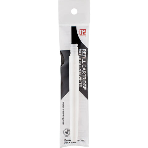 ZIG CARTOONIST Refill Cartridge for BRUSHPEN WHITE