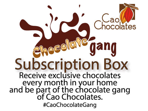 Chocolate Gang: Chocolate Subscription Box