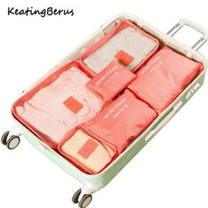 Luggage Organizer Set of 6