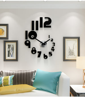 Modern Unique Acrylic Wall Clock
