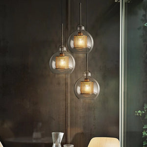 Modern Nordic Teardrop Pendant Lights