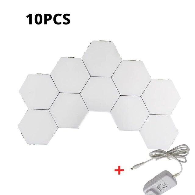 LED Hexagonal Touch Sensitive Lights