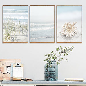 Set of 3 Nautical Canvas Print