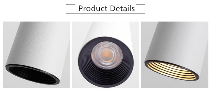 Dimmable  COB Cone LED Modern Pendant Light