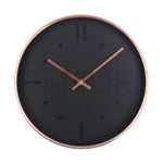 Round Modern Metal Wall Clock