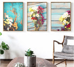 3PCS Set Flower Canvas Paintings Wall Art
