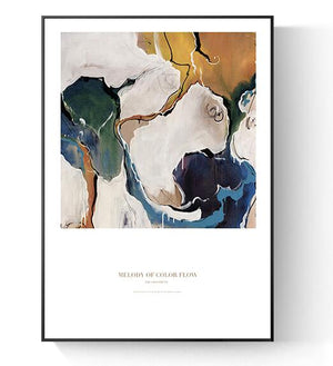 Modern Abstract Wall Art Print