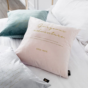 Nordic Style Velvet Cushion Cover 45x45cm