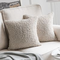 Wool Throw Pillow Cushion Covers Cases 45*45cm