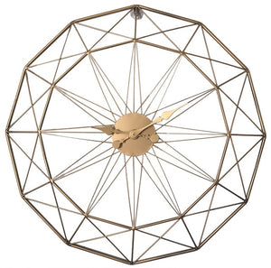 Polygon Iron Hanging Wall Clock