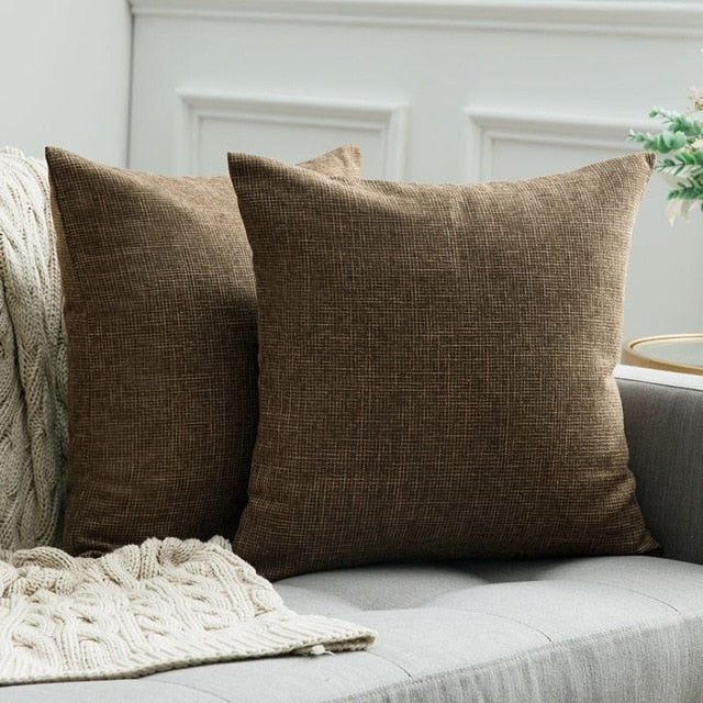 Linen Pillow Covers Cushion Cases