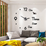 Modern Acrylic Large Wall Clock