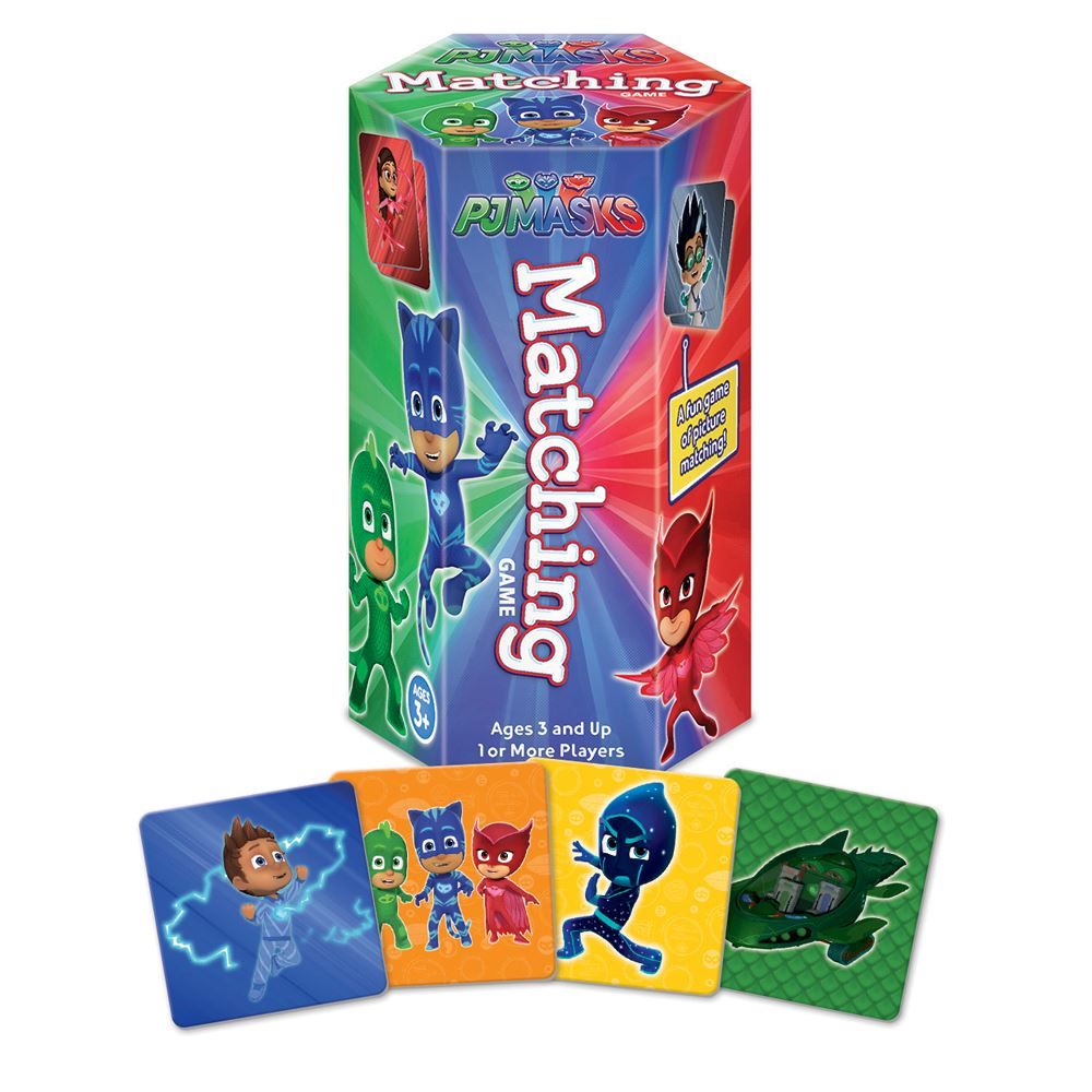 PJ Masks Hex Matching Game