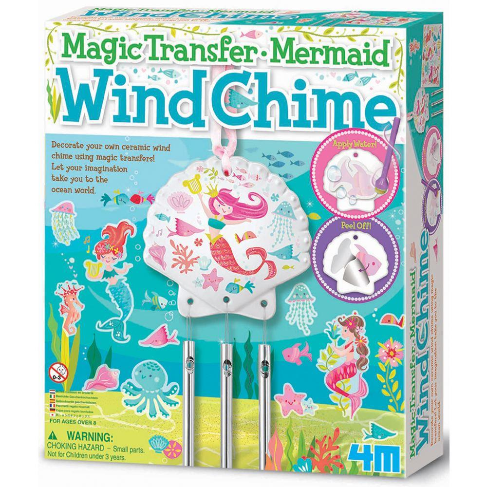 4M Craft - Magic Transfer Mermaid Wind Chime