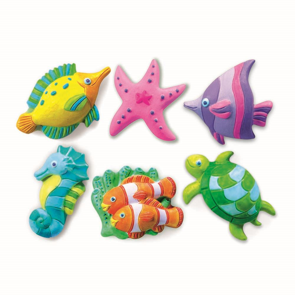 Sea Life Mould & Paint