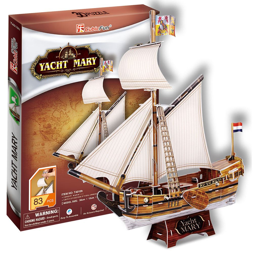 3D Puzzle Yacht Mary