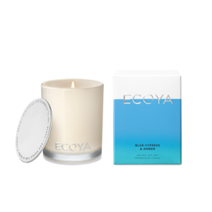 Ecoya Mini Madison Jar - Blue Cypress & Amber
