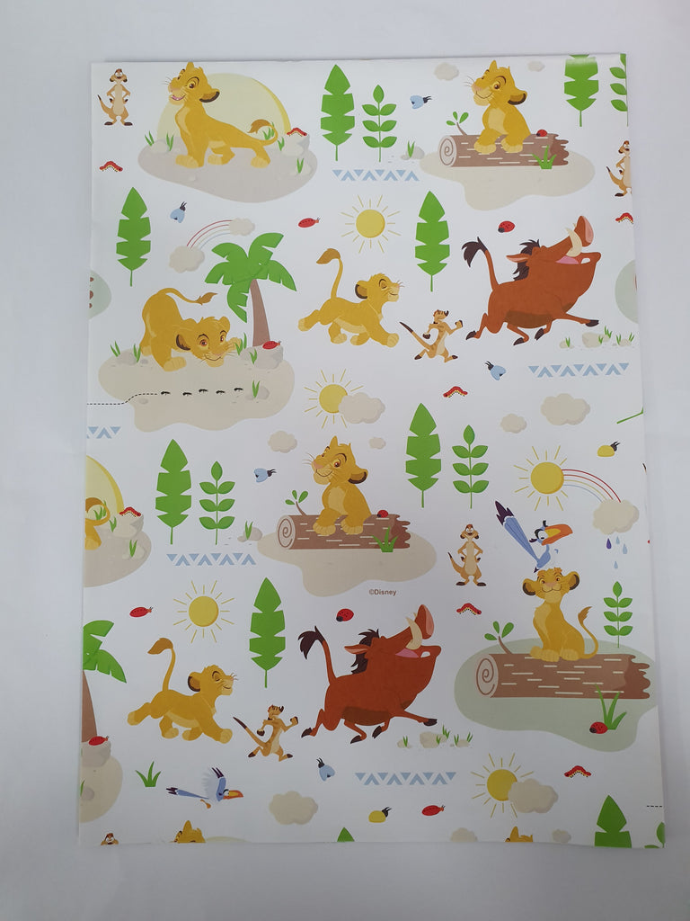 The Lion King Folded Wrap WEW982