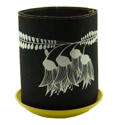 Ecofelt Grow Bag - Kowhai on Black