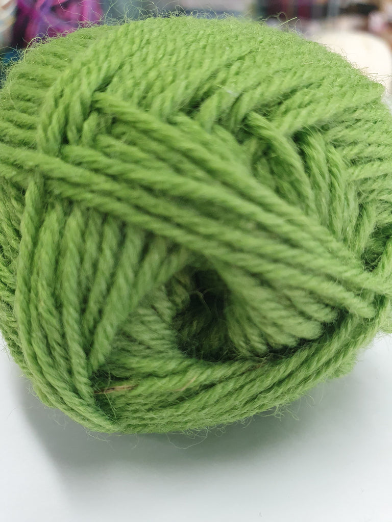 Happy Feet 4ply Sock 50g - Fresh Green