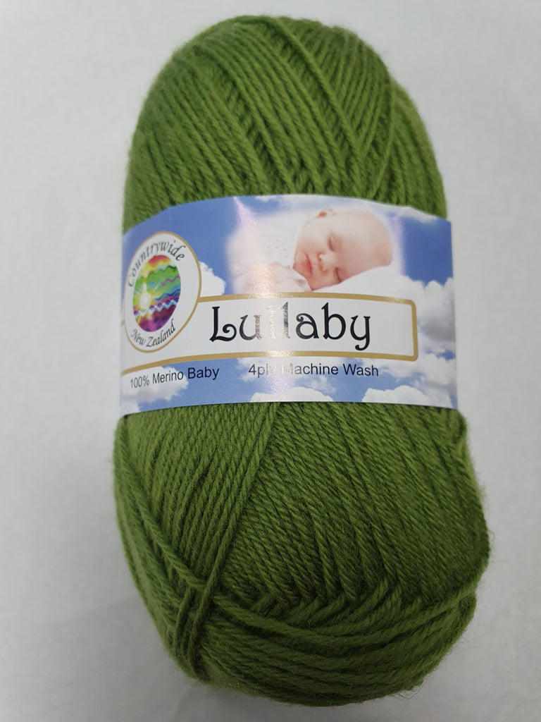 Lullaby 4 ply Baby 50g - Grass