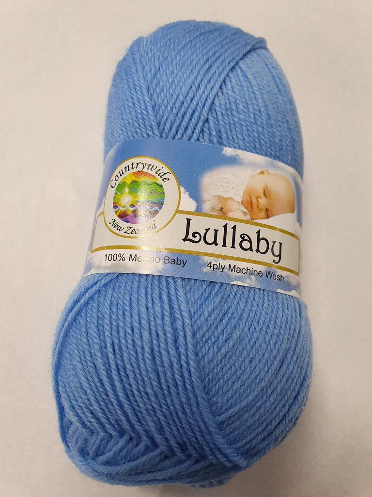 Lullaby 4 ply Baby 50g - Bright Blue