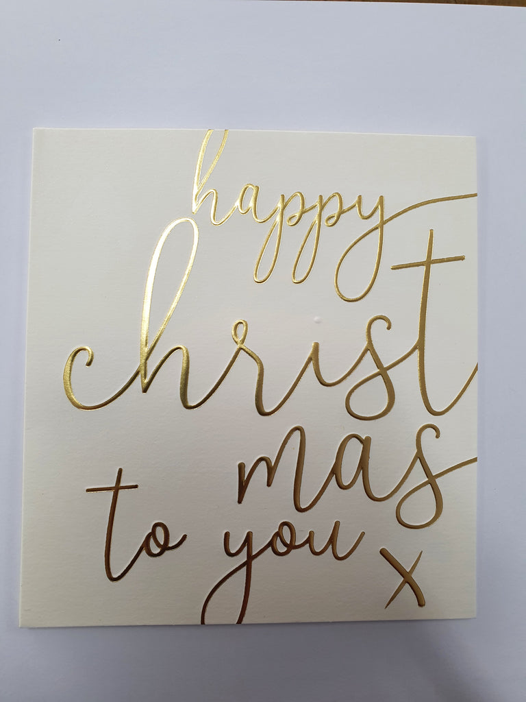 Caroline Gardner - Happy Christmas to You Christmas Card