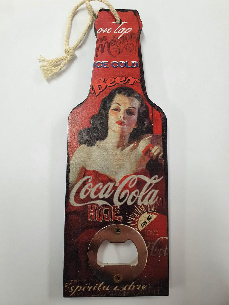 Bottle Opener Hanger Coca Cola