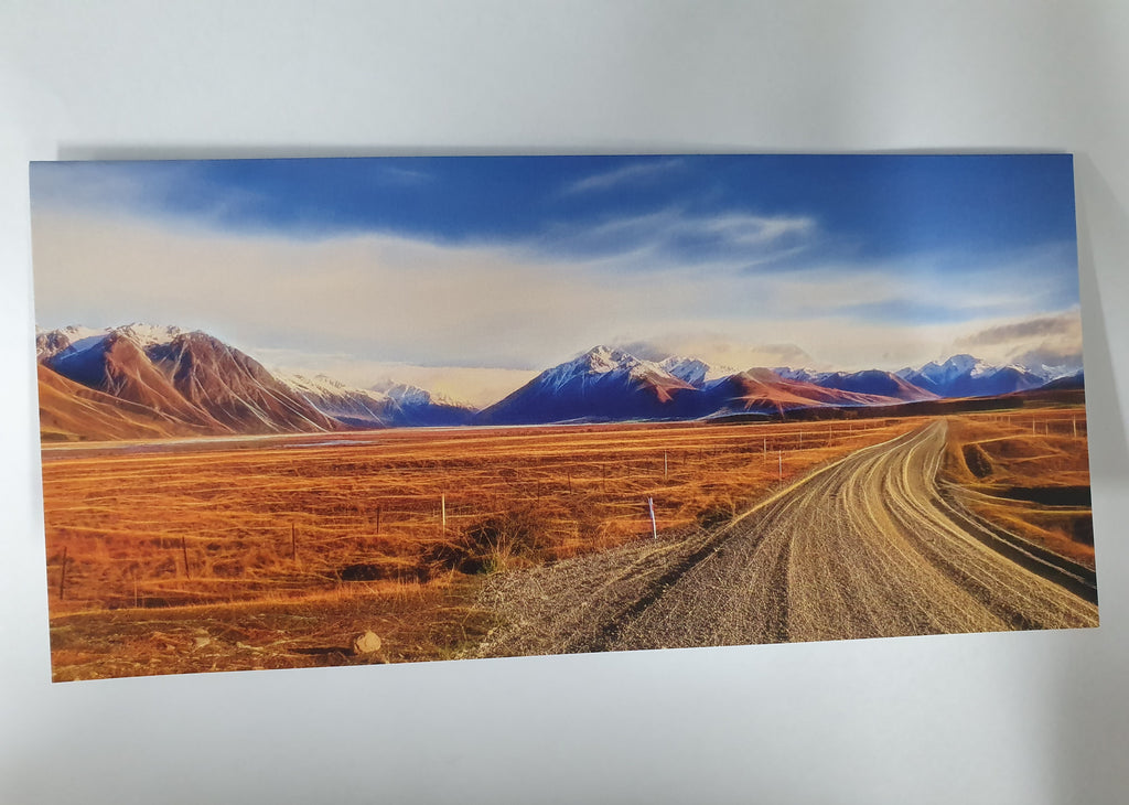 Murray Crawford Lilybank Road, Tekapo Card