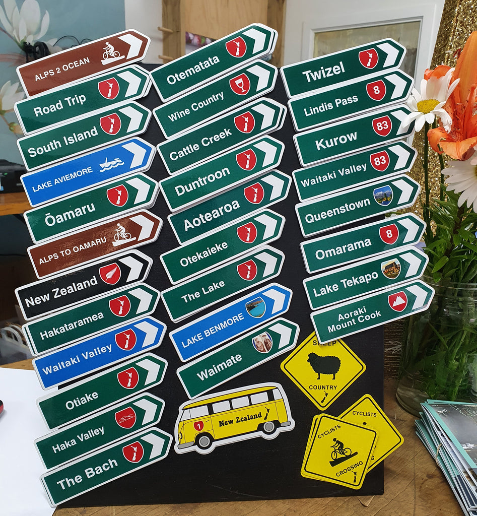 Magnet Road Signs