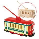 Painting 3D Wooden Puzzle - Trolley