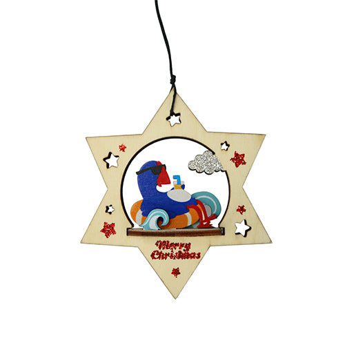 DQ & Co Xmas Deco Going Places Pukeko