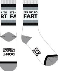 Frankly Funny Socks OK to Fart