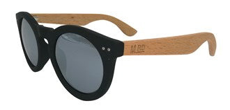 Moana Rd Sunnies Grace Kelly Silver Reflective Lens