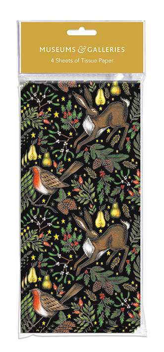 Museums & Galleries - Christmas Garden - Christmas Tissue Wrap