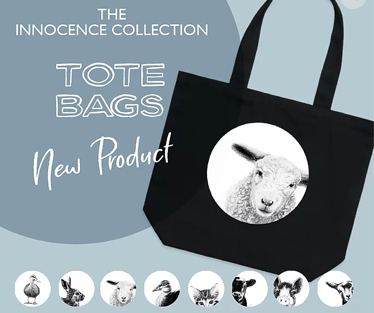 Dana Johnston Innocence Collection Tote - Lamb