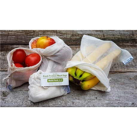 Fresh Produce Mesh Bag, Multipack 4 bags