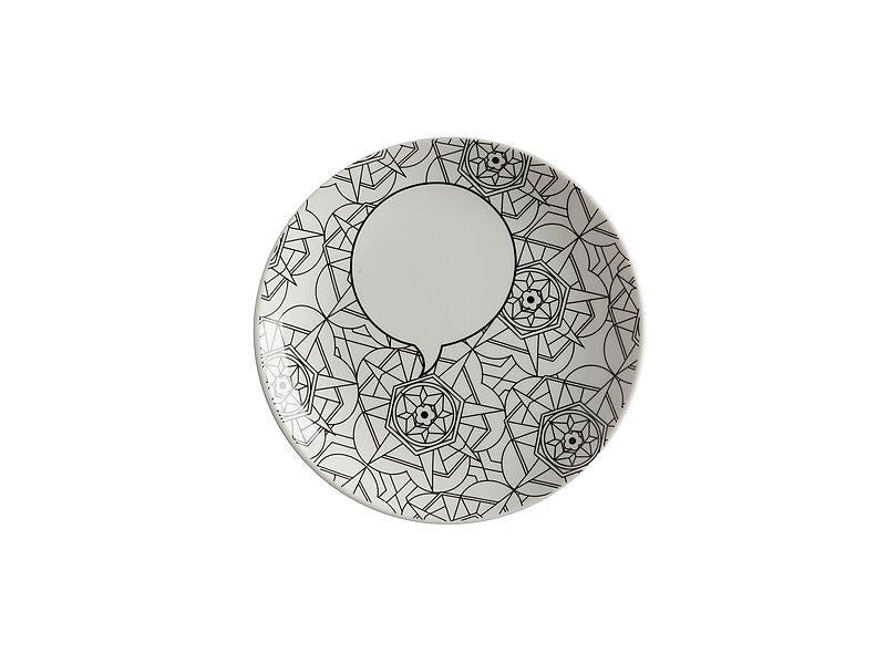 Mindfulness Messages Plate - Kaleidoscope