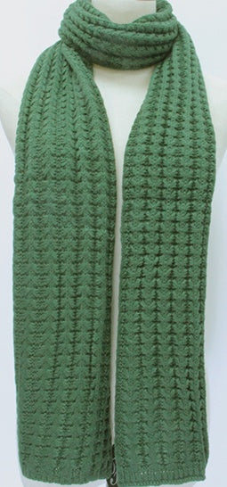 Forest Knitted Scarf