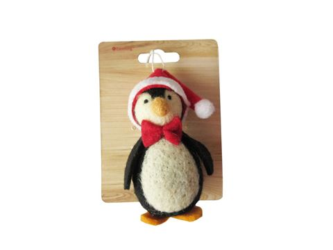 Excelong - Woolen Penguin - Christmas Decoration