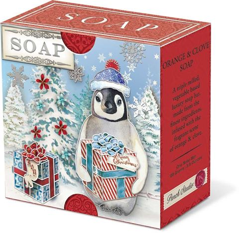 Penguin - Christmas Boxed Soap