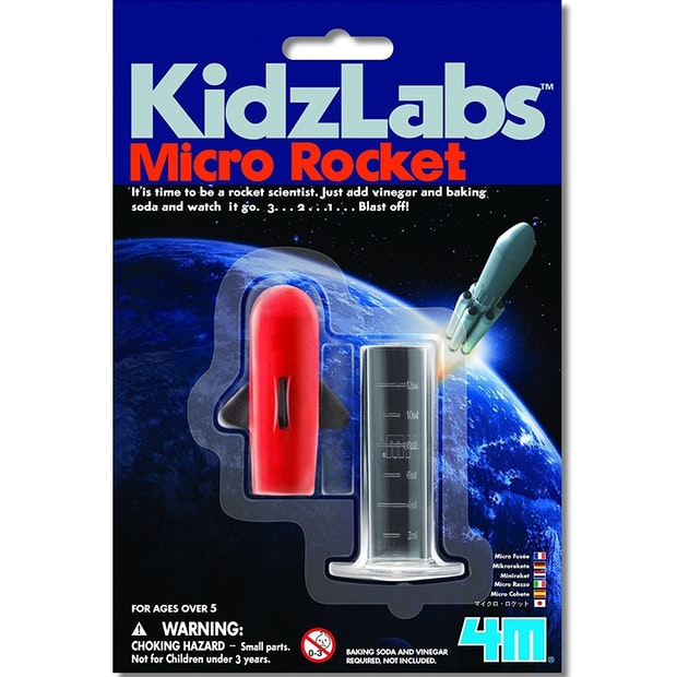 4M Mini Science - Micro Rocket