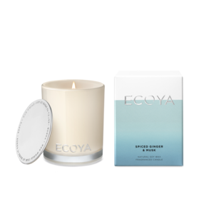 Ecoya Mini Madison Jar - Spiced Ginger & Musk