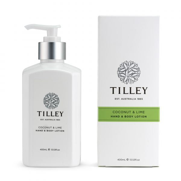Tilley Body Lotion 400ml - Coconut & Lime