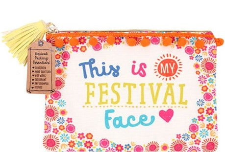 Festival Face Makeup Bag
