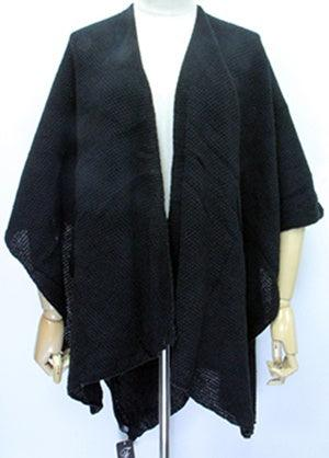 Black Knitted Wrap