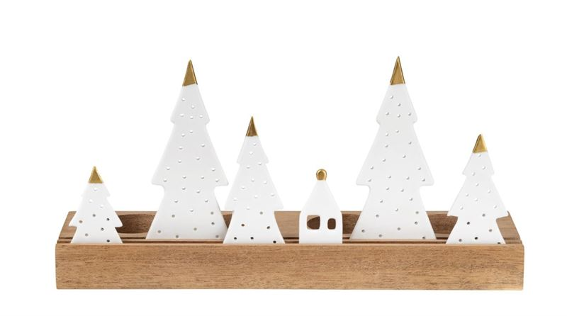 Räder - Fir Trees - Christmas Tealight Holder