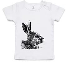 Dana Johnston Innocence Collection Tee - Bunny 6-12 months